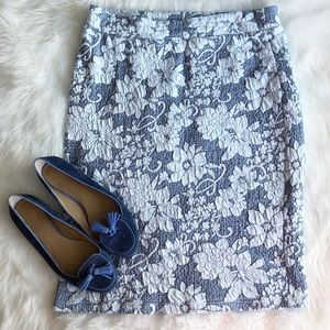 Gilli USA • Floral Textured Bodycon Skirt